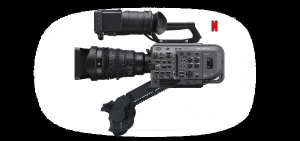 noleggio Sony PXW-FX9 camera service group