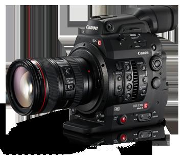 Canon C300 MK II noleggio macchina da presa