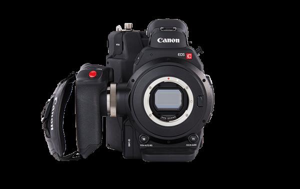 Canon C300 MK II noleggio milano roma