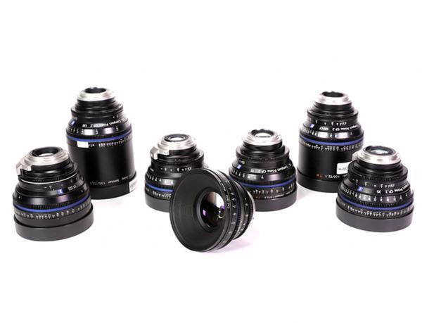 kit di lenti a noleggio Compact Prime CP2 camera service group
