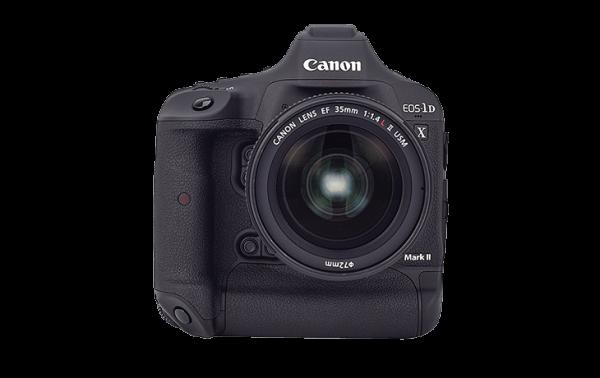 macchina fotografica professionale Canon EOS 1DX Mark II a noleggio