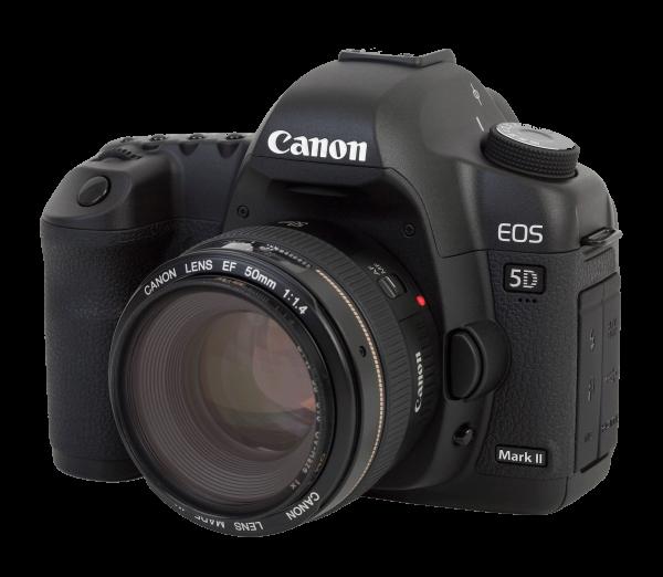 macchina fotografica professionale a noleggio Canon EOS 5D Mark II