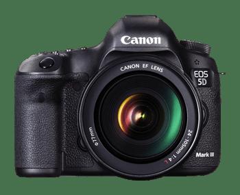 noleggio Canon EOS 5D Mark III per riprese video e fotografia professionale