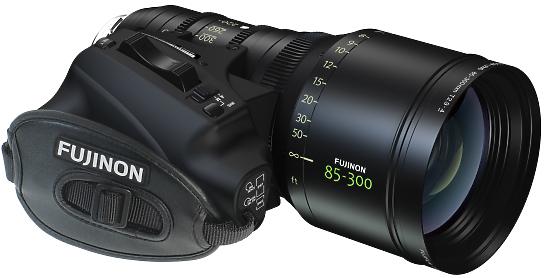 noleggio Fujinon 85-300 lente cinematografica zoom