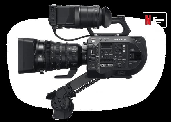 noleggio camera SONY PXW-FS7 II serie milano