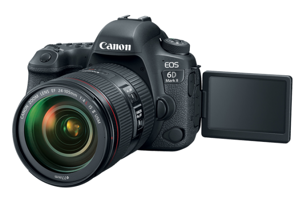 noleggio camera video e fotografica Canon EOS 6D Mark II milano e roma