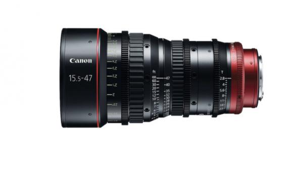 noleggio canon CN E 15.5-47 cine lens camera service group