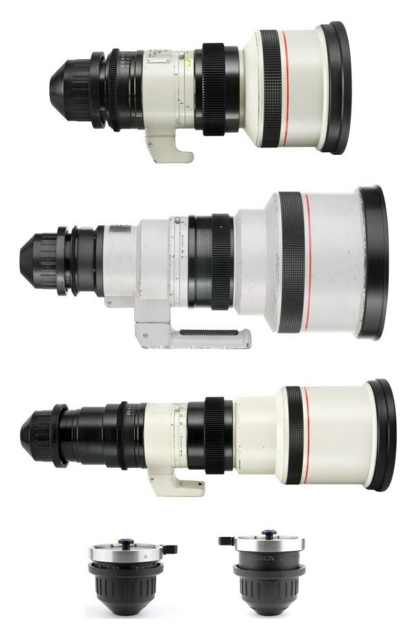 noleggio canon special lenses 300-400 e 500 camera service group