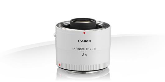 noleggio lente macro Canon Extender 2x