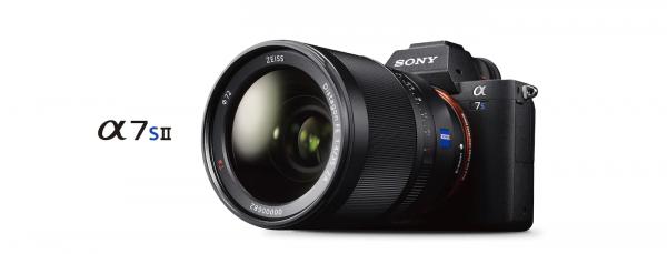noleggio macchina fotografica video professionale SONY Alpha 7sII milano e roma
