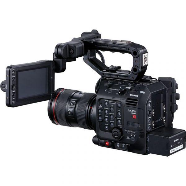 noleggio mdp Canon C500 MK II milano roma