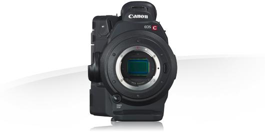 noleggio mdp canon eos C300 Milano, roma, puglia italia camera service group - sensore frontale