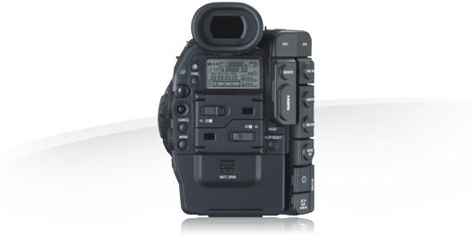 noleggio mdp canon eos C300 Milano, roma, puglia italia camera service group - dietro