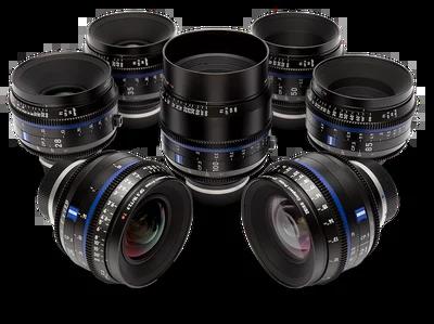 noleggio set di lenti Zeiss-Compact-prime-CP.3 Milano e Roma
