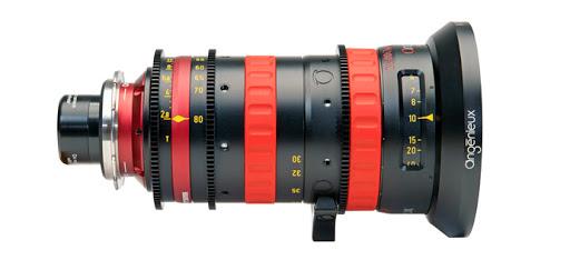noleggio zoom angenieux 30-80 cine lenses milano e roma