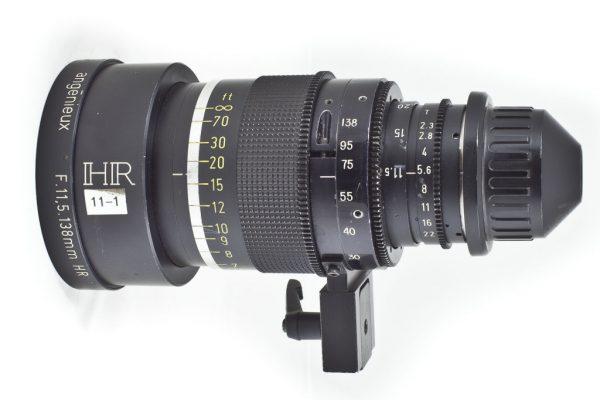zoom Angenieux 11.5-138mm T2.3 a noleggio milano roma e Italia da Camera Service Group