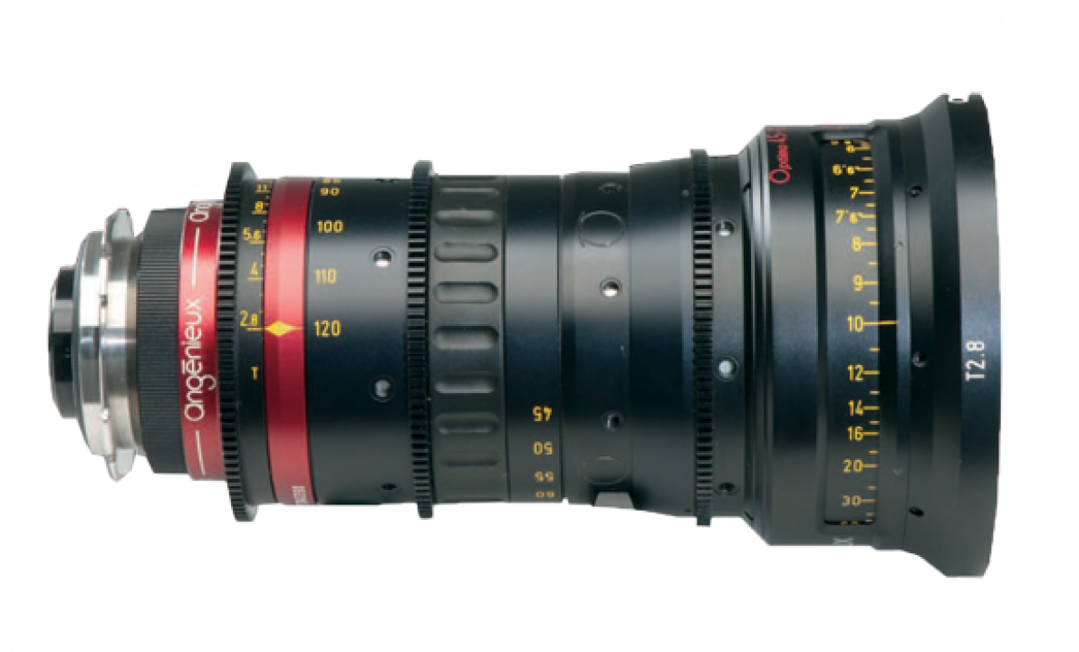 cine lenses zoom angenieux optimo lightweight 45-120 a noleggio