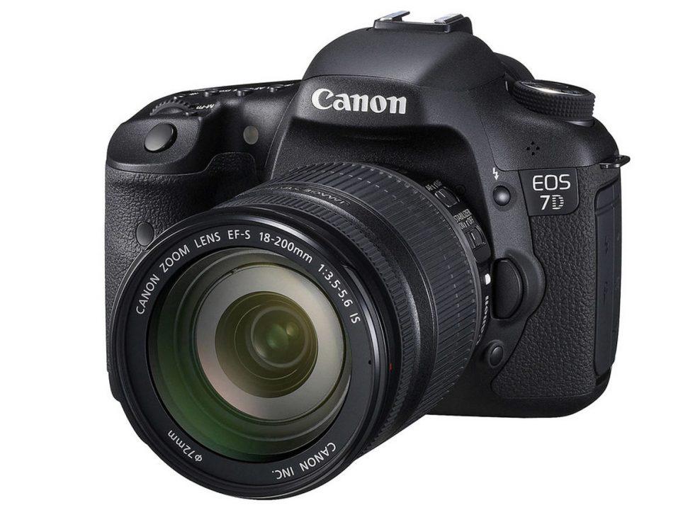 noleggio Canon EOS 7D macchina fotografica milano