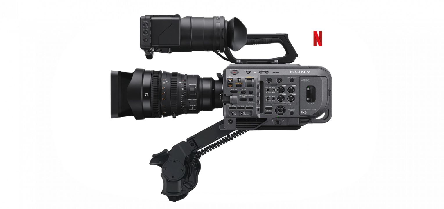 noleggio Sony PXW-FX9 camera service group