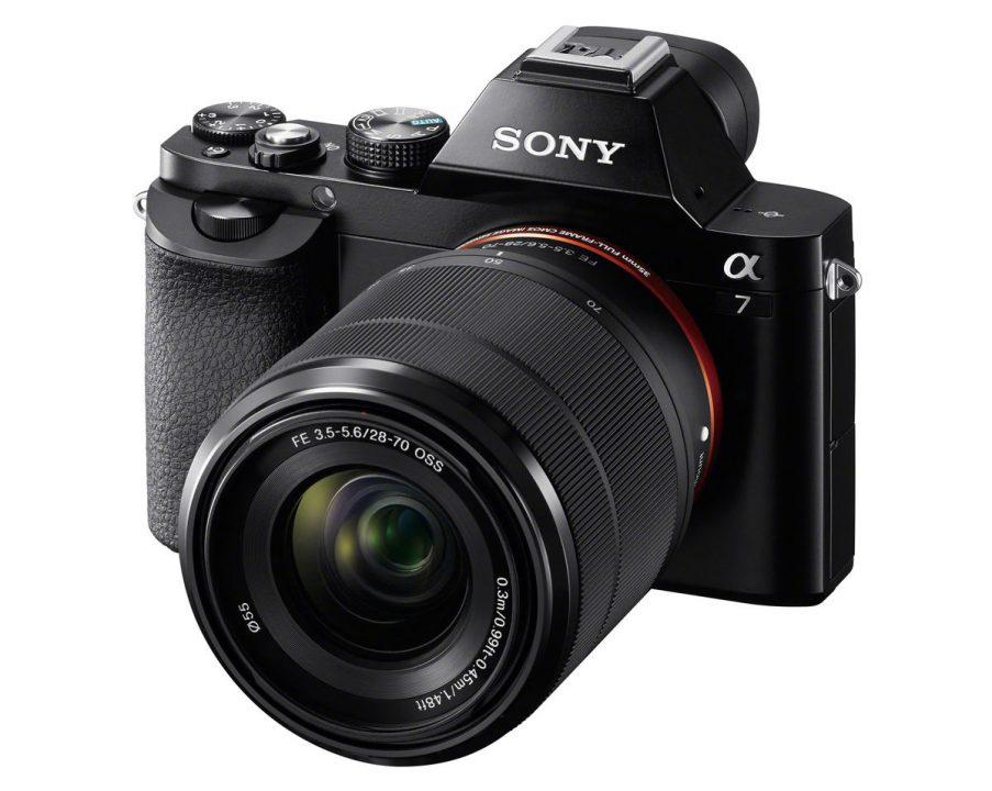 noleggio fotocamera professionale SONY ALPHA 7